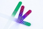 Coloured nail files